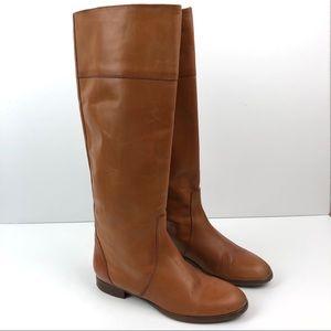 J. Crew Booker Cognac Boots Size 7